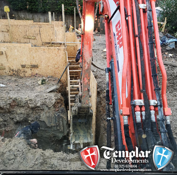 groundworks, patios and paving by Templar Developments