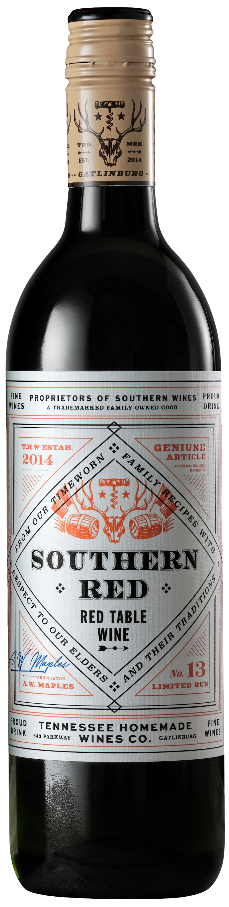 Tennessee Homemade Wines southern red wine