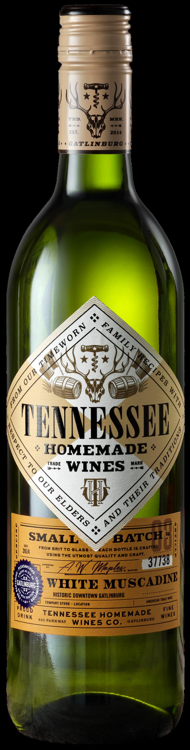 Tennessee Homemade Wines White Muscadine Wine