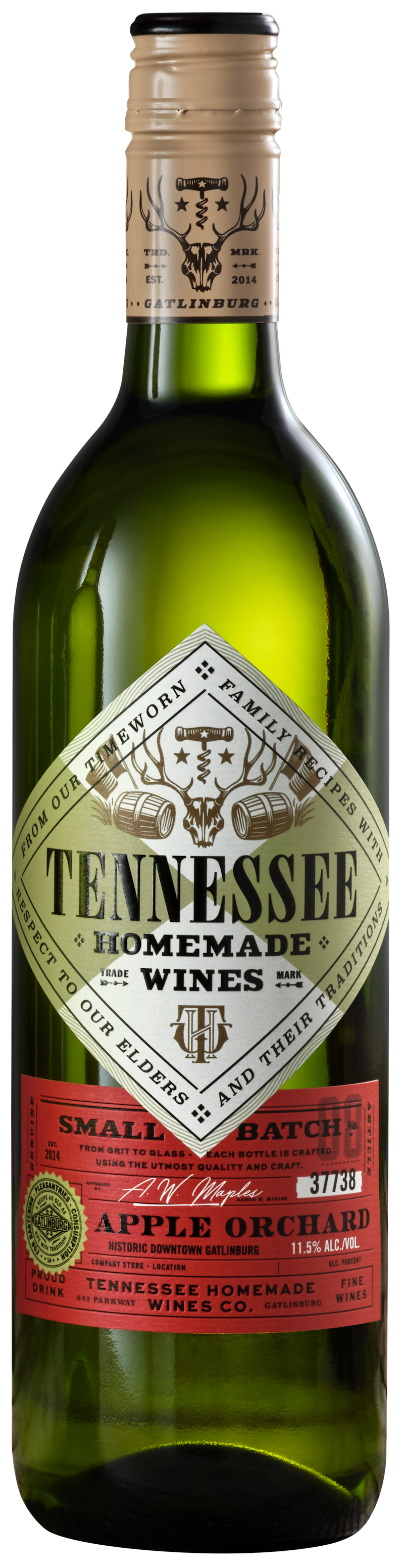 Tennessee Homemade Wines Apple Orchard Wine