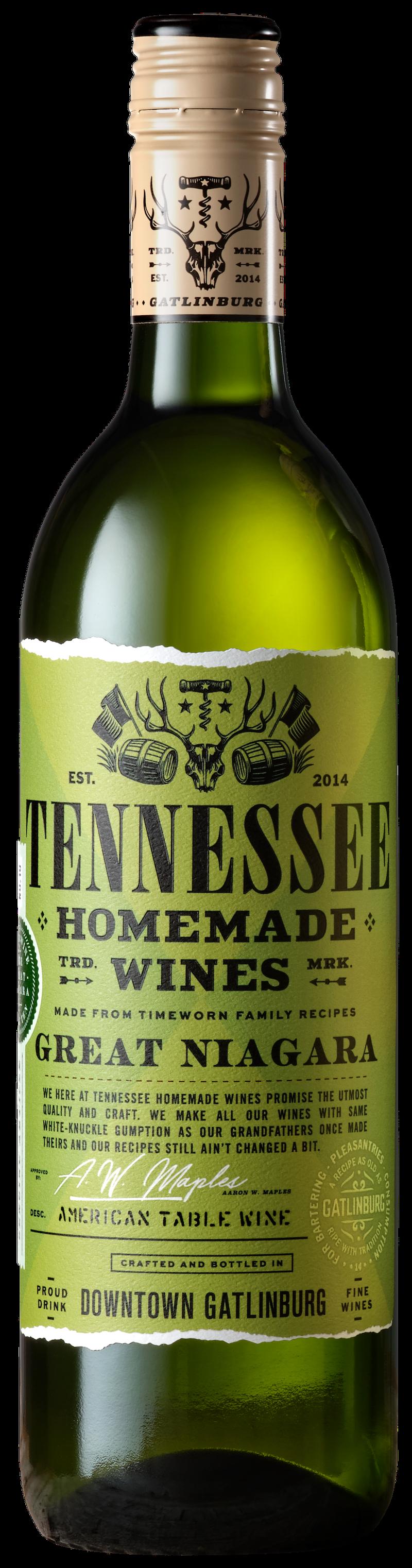 Tennessee Homemade Wines Great Niagara Wine