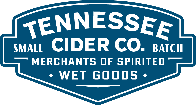 Tennessee Cider company's logo, Tennessee cider company is the sister company of Tennessee homemade wines