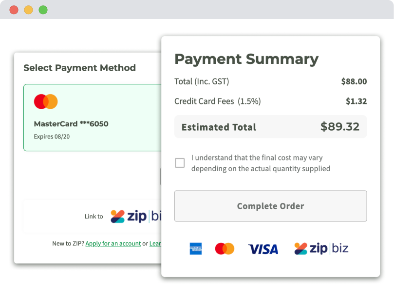 Multiple payment options with Foodbomb