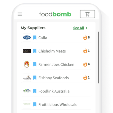 Platform shot of supplier discovery feature