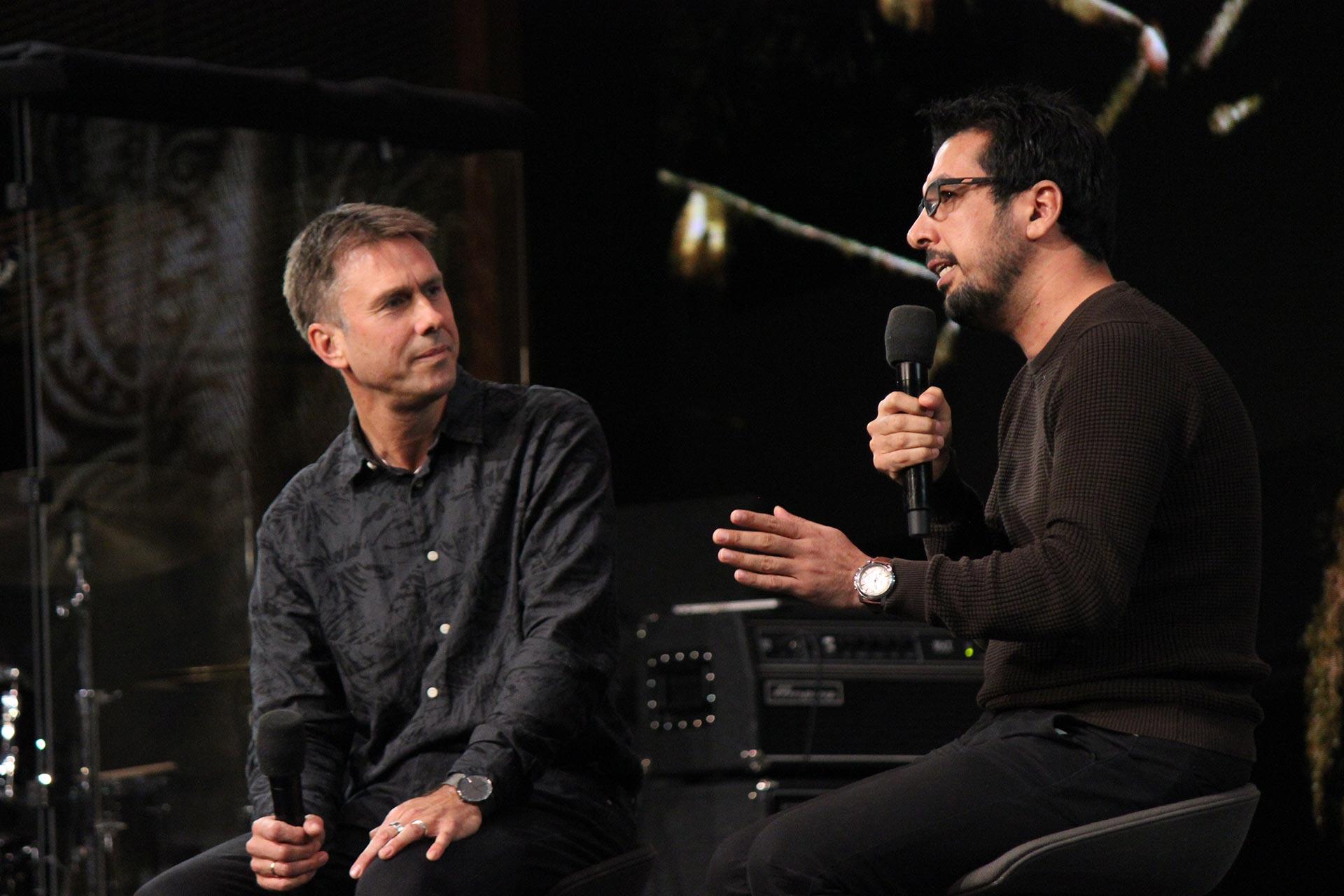 Pastor Jan Kjosavik intervjuer Daniel Magli.