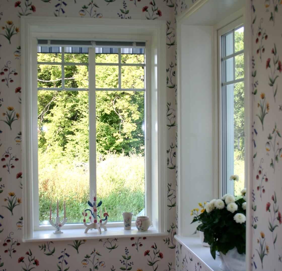 Fenster in einem KarlsonHus