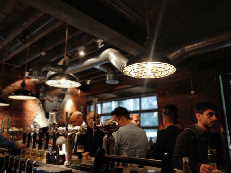 The bar was full at FinTech Friends