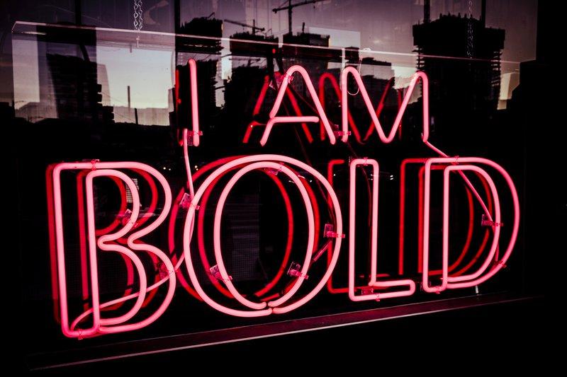 I AM BOLD