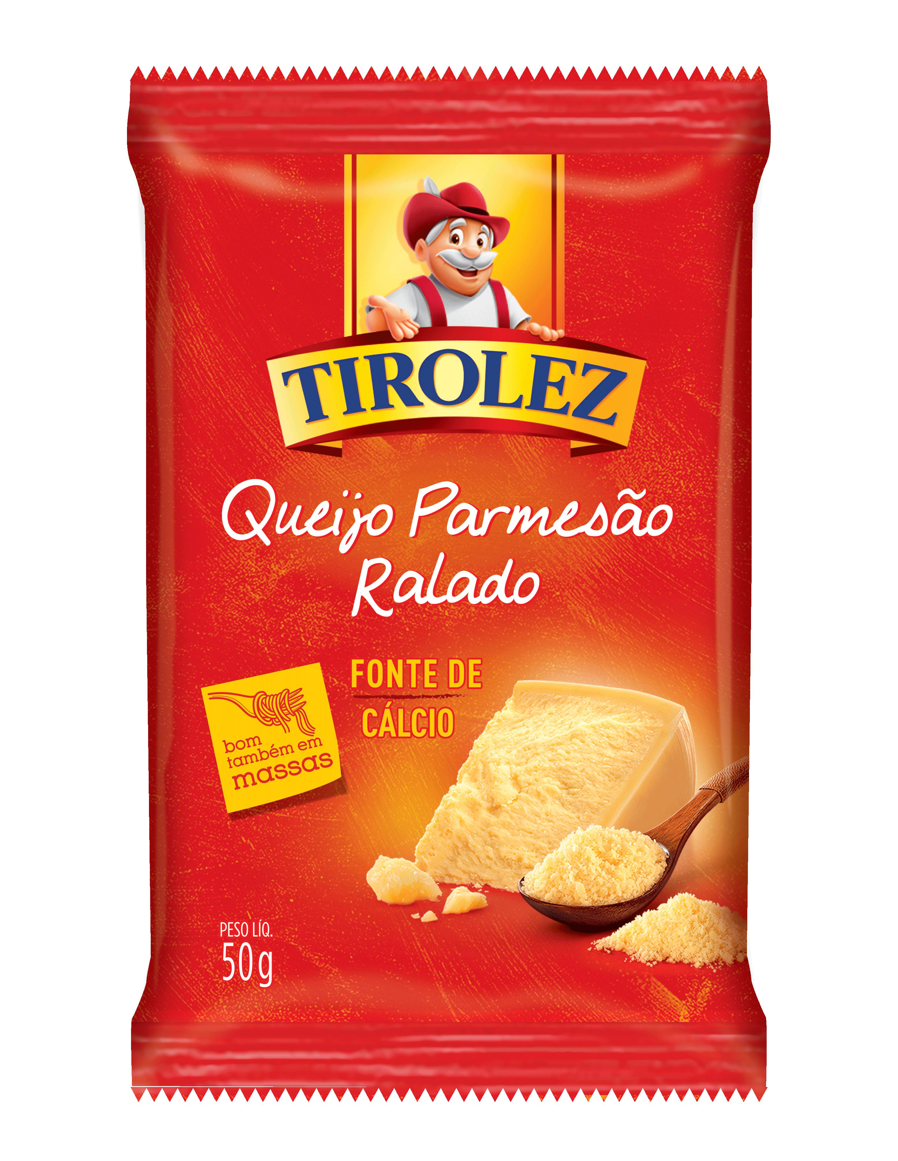 QUEIJO PARMESAO RALADO Tirolez 50g