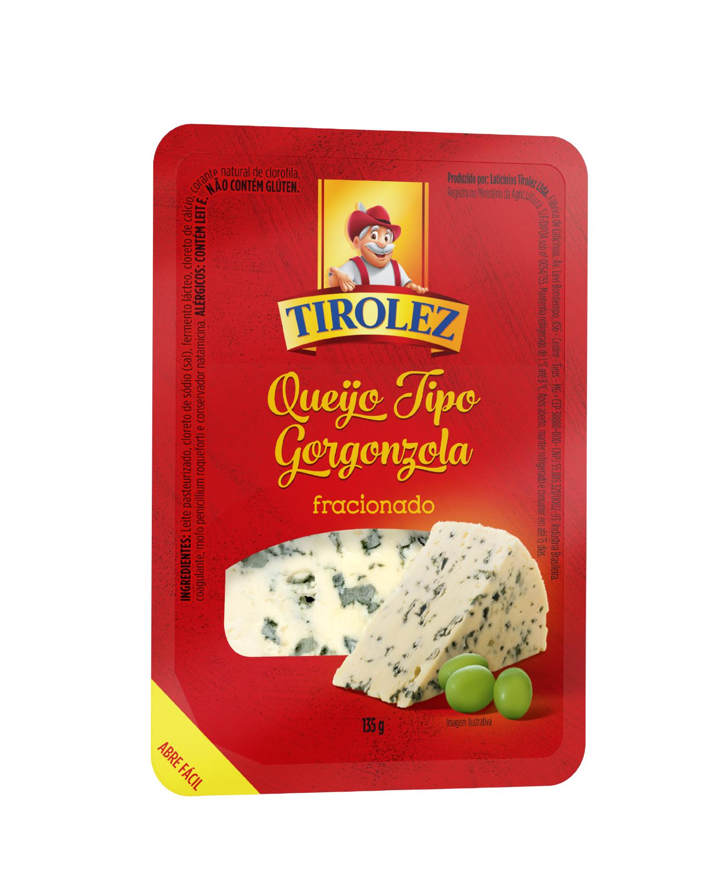QUEIJO GORGONZOLA Tirolez 135g