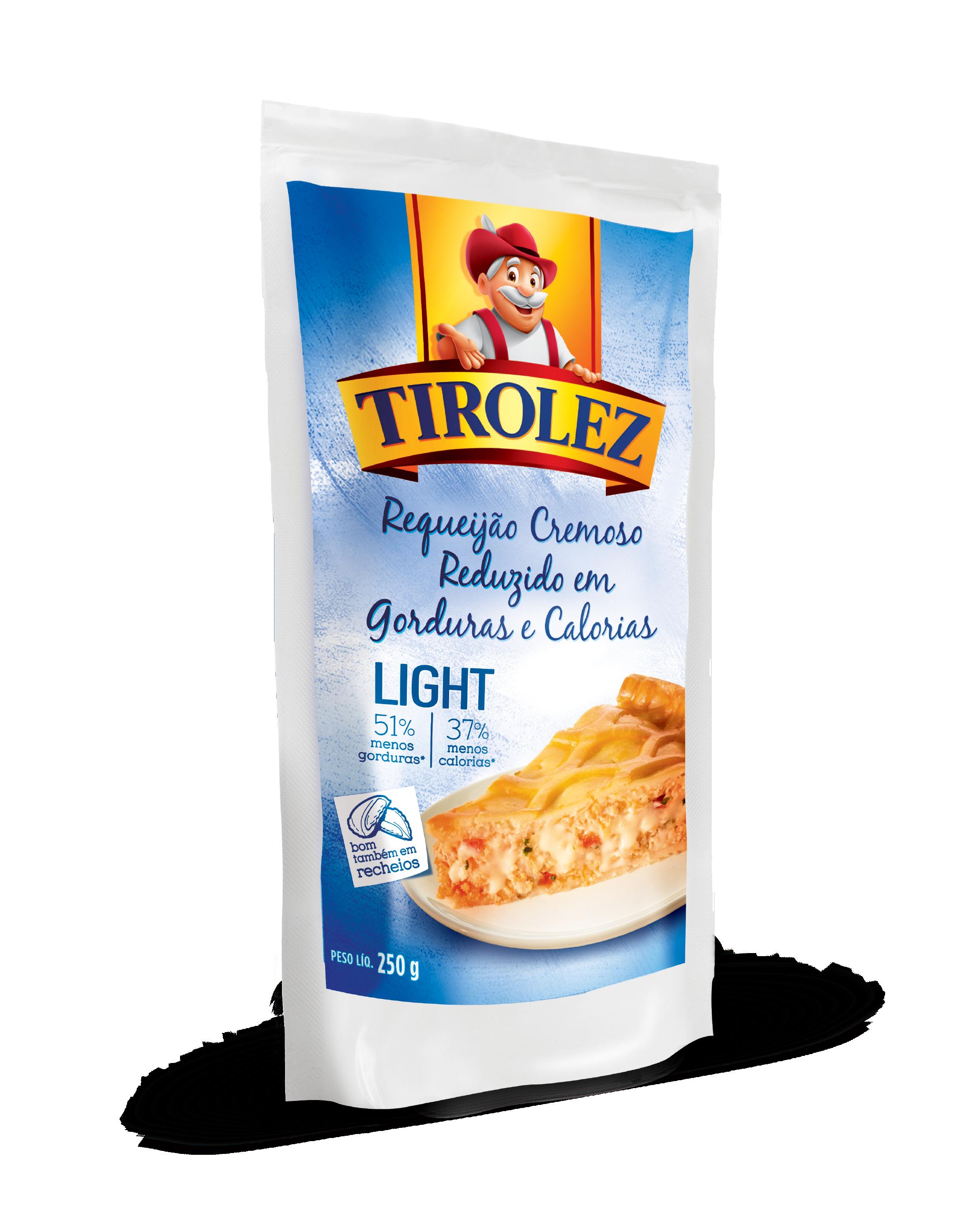 REQUEIJAO POUCHE LIGHT Tirolez 250g