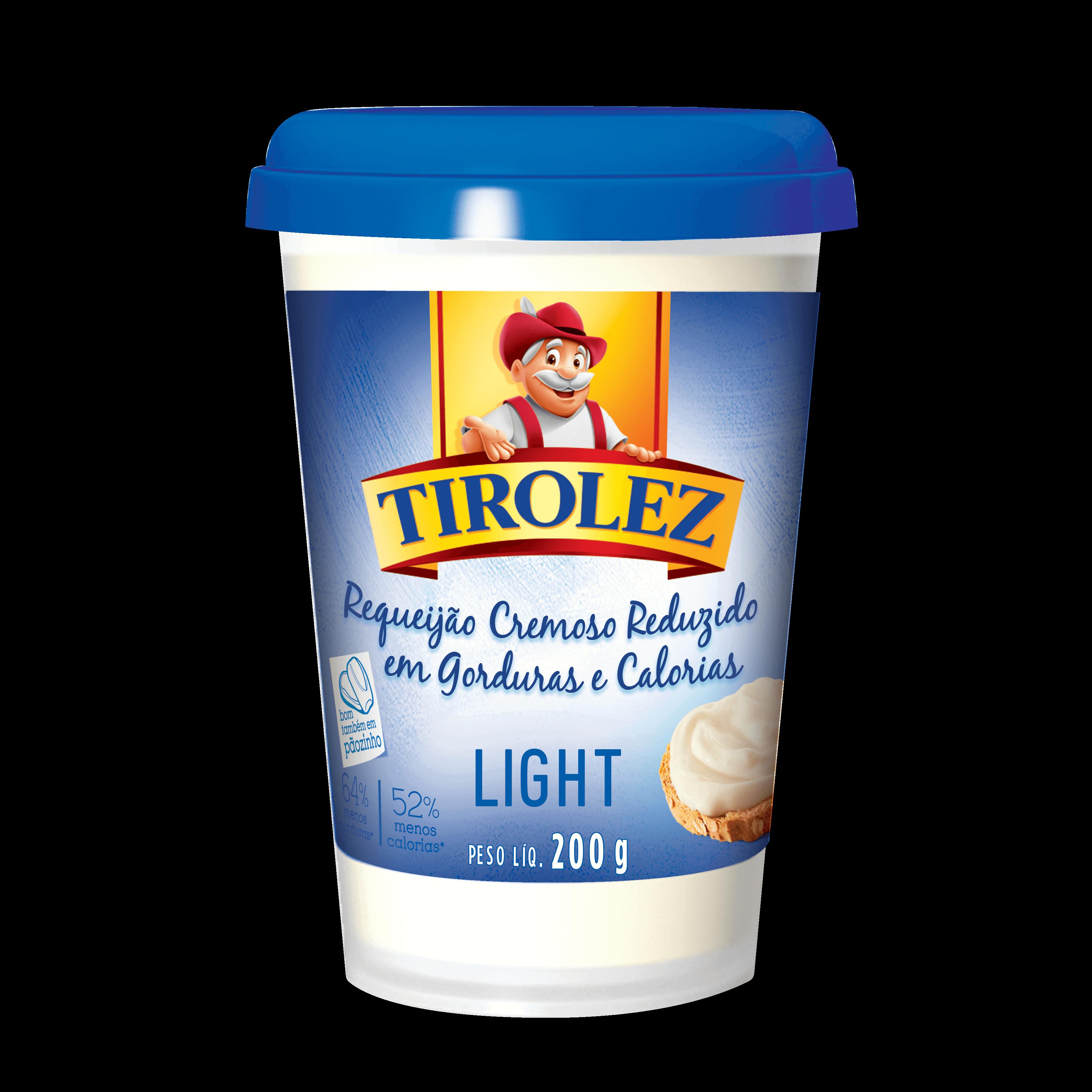 REQUEIJAO CREMOSO LIGHT Tirolez 200g