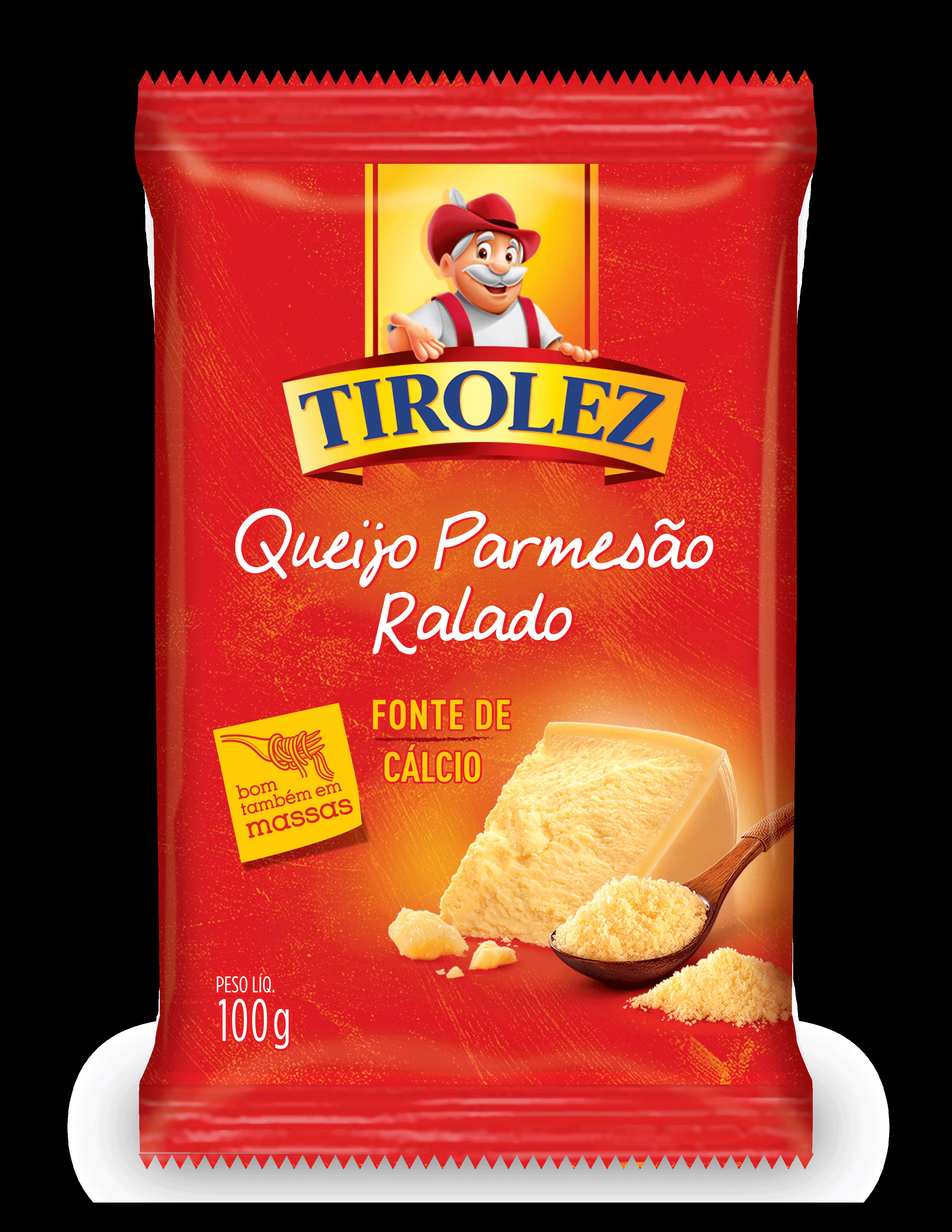 QUEIJO PARMESAO RALADO Tirolez 100g
