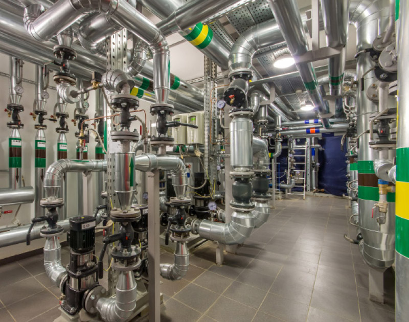 commercial heating plantroom image