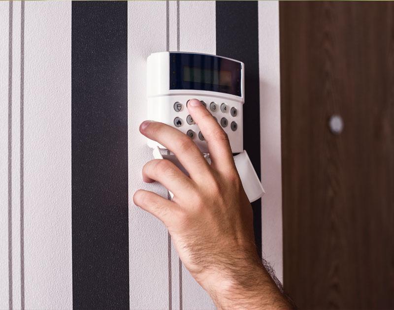 Installing intruder alarm system