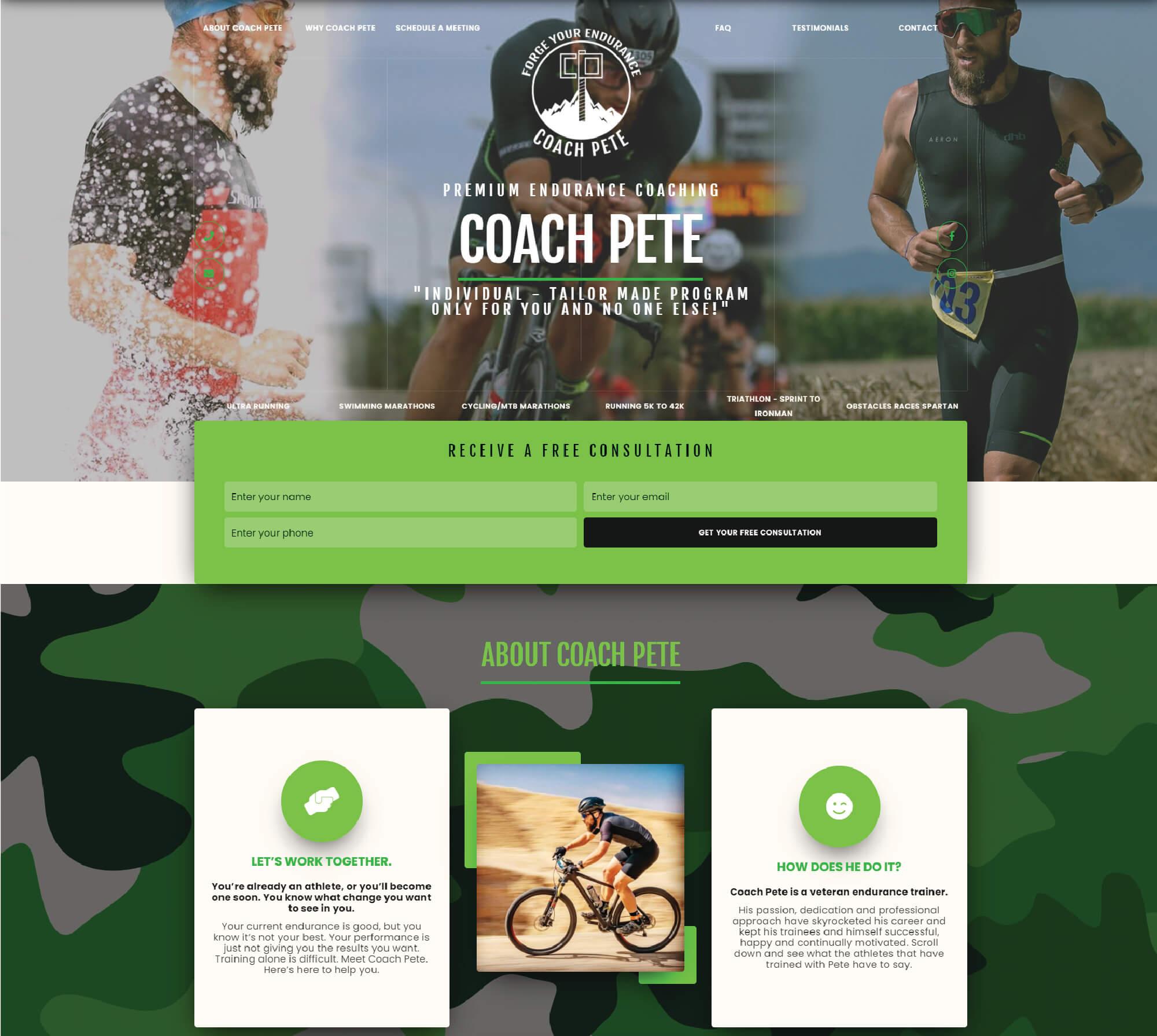 Coach Pete