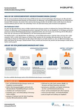 Serviceorientierte Heizkostenabrechnung (E898) - Nebenkosten effizient abrechnen von Immobilienverwaltern