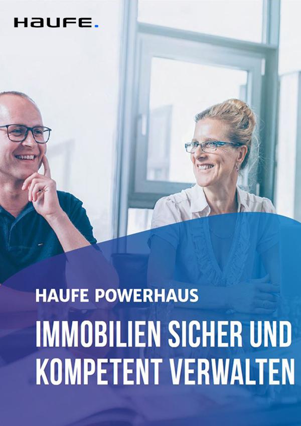 Produktbroschüre Haufe PowerHaus für Verwalter