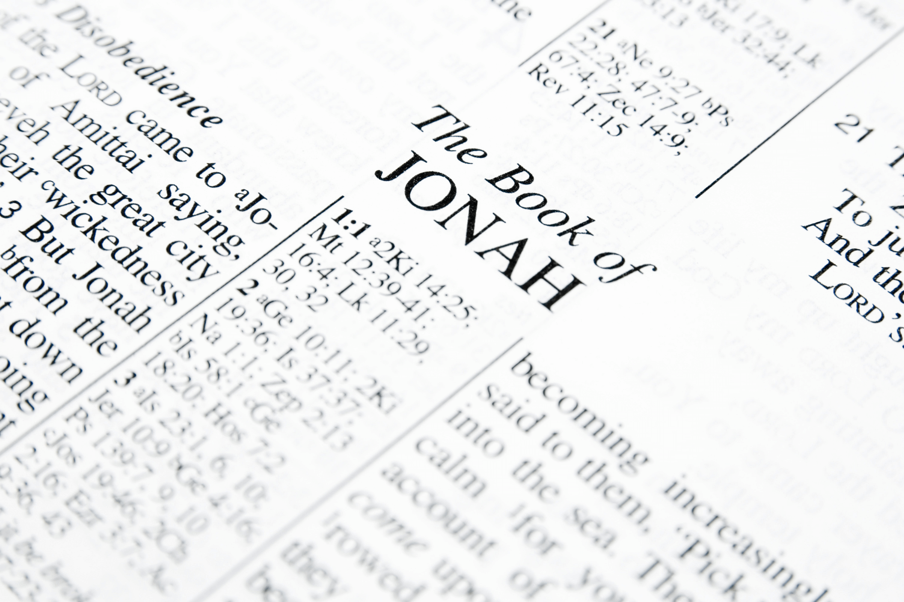 Lessons for Seniors From the Book of Jonah
