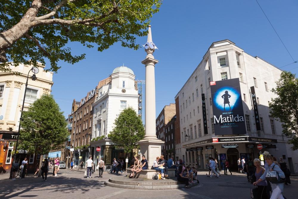 Seven Dials, Covent Garden, London