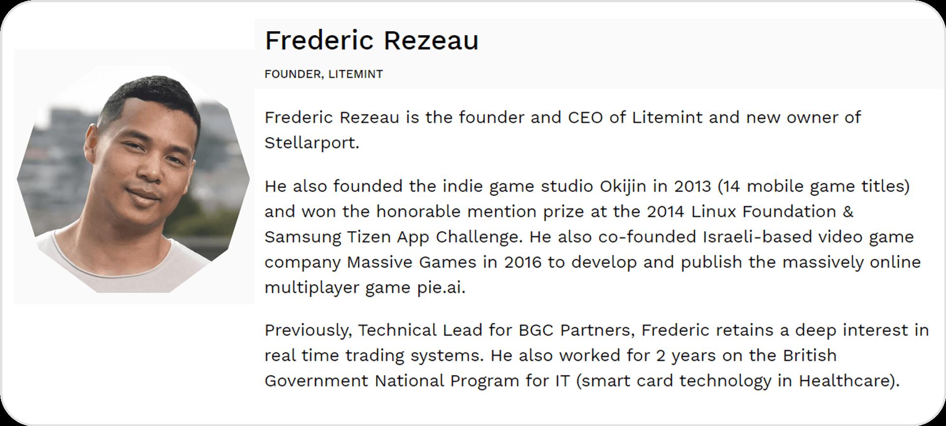 Team Frederic Rezeau