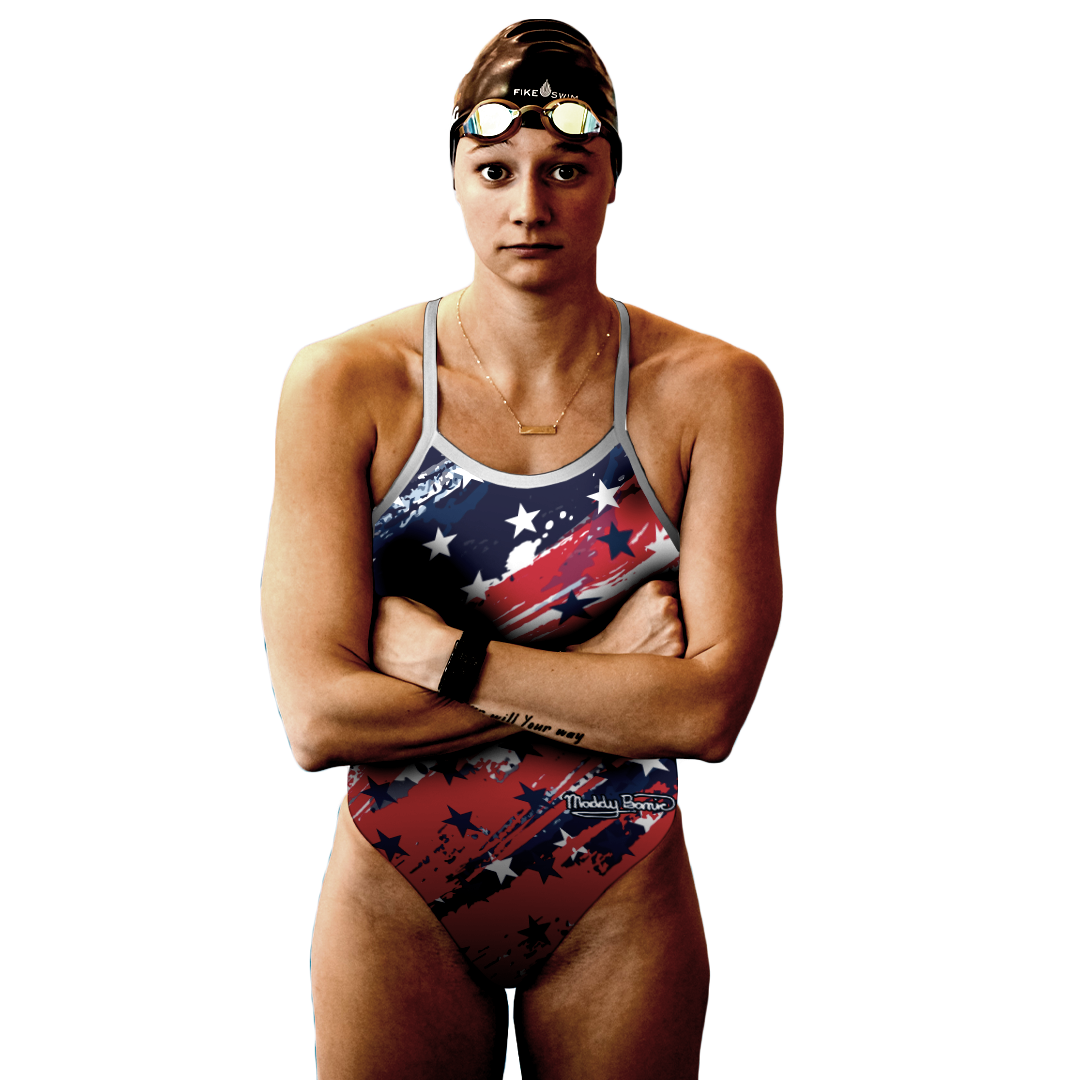 Maddy Banic in Lane to Tokyo Suit