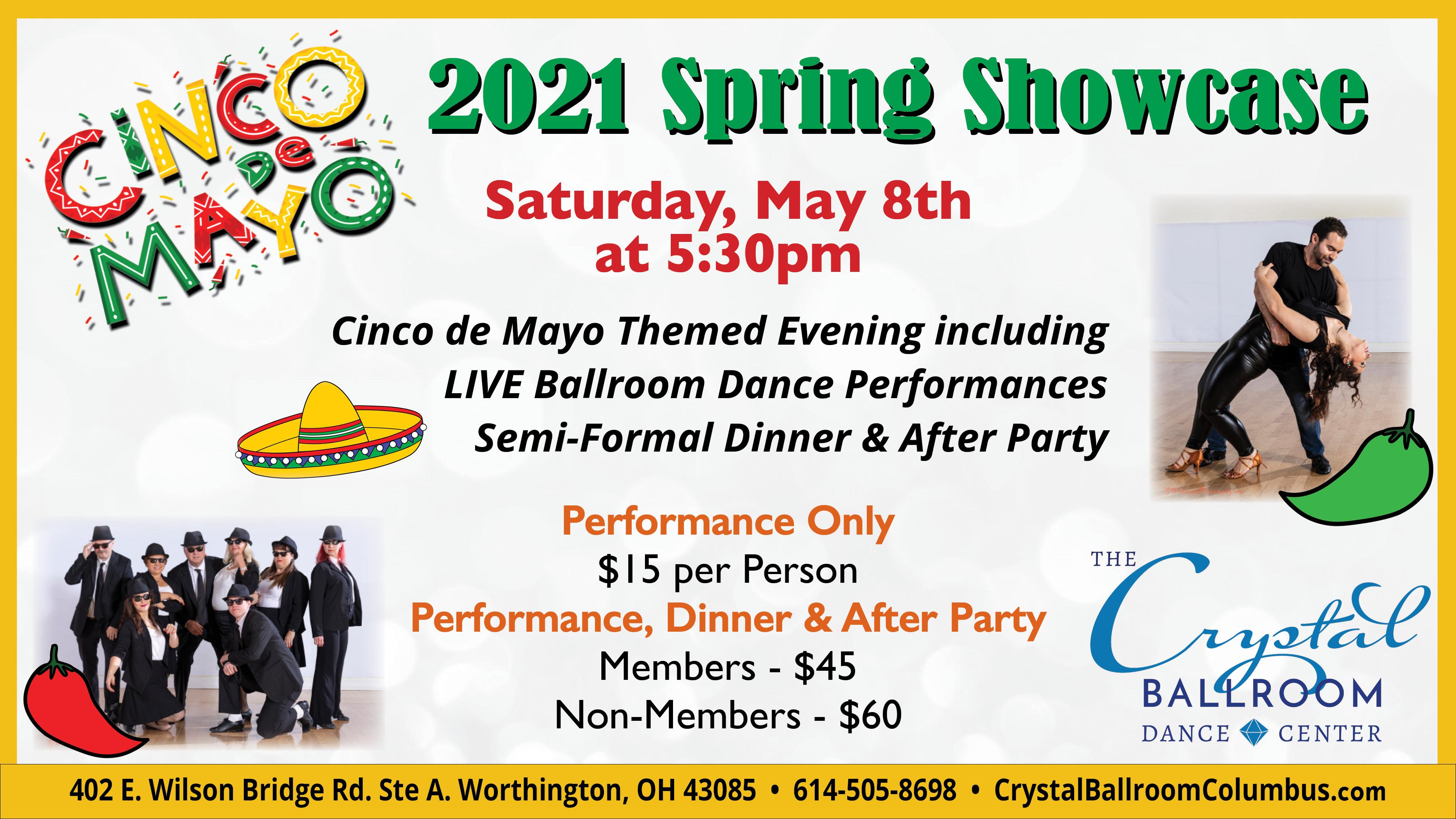 2021 Spring Showcase: Cinco de Mayo