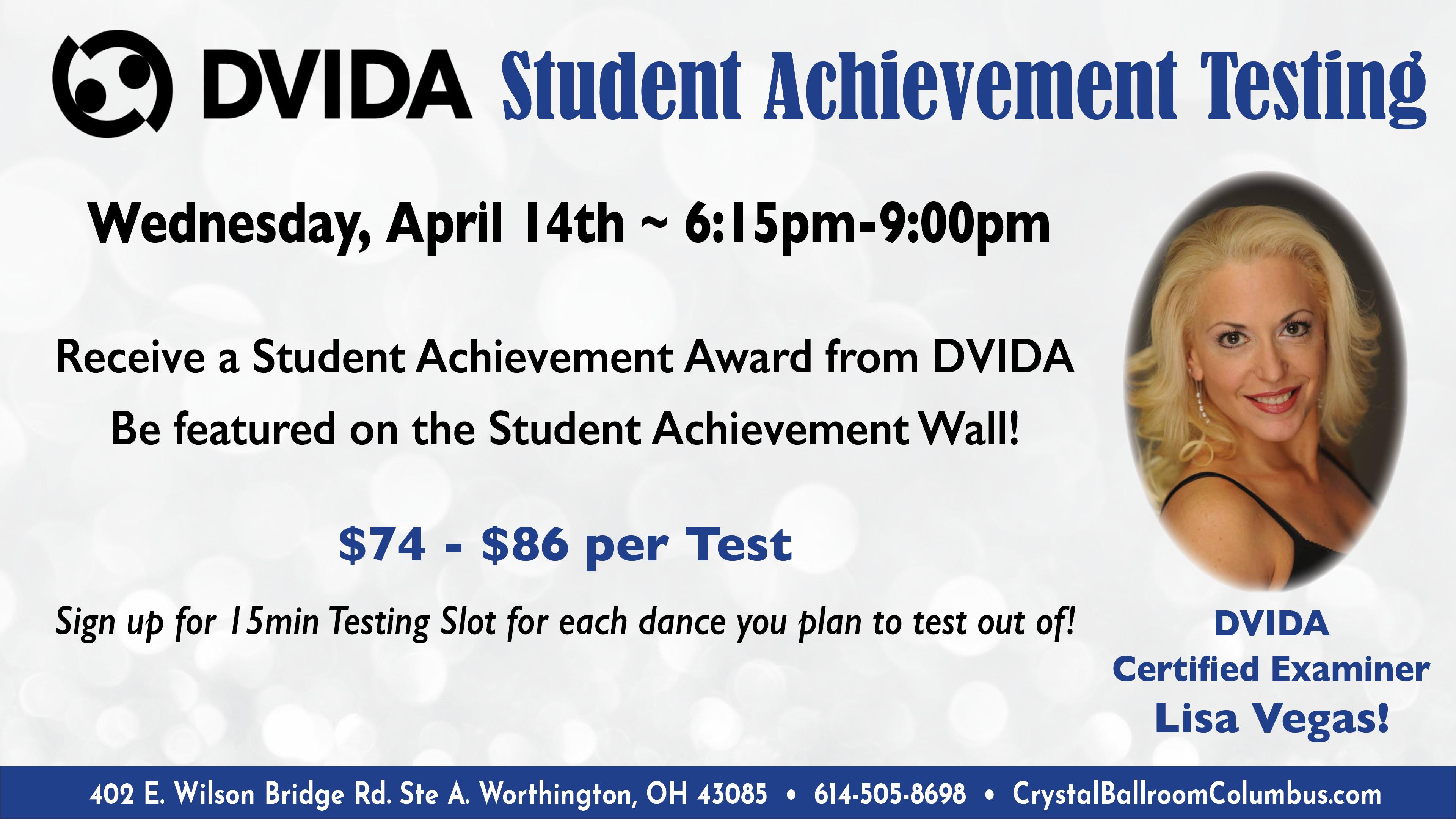 DVIDA Student Achievement Testing