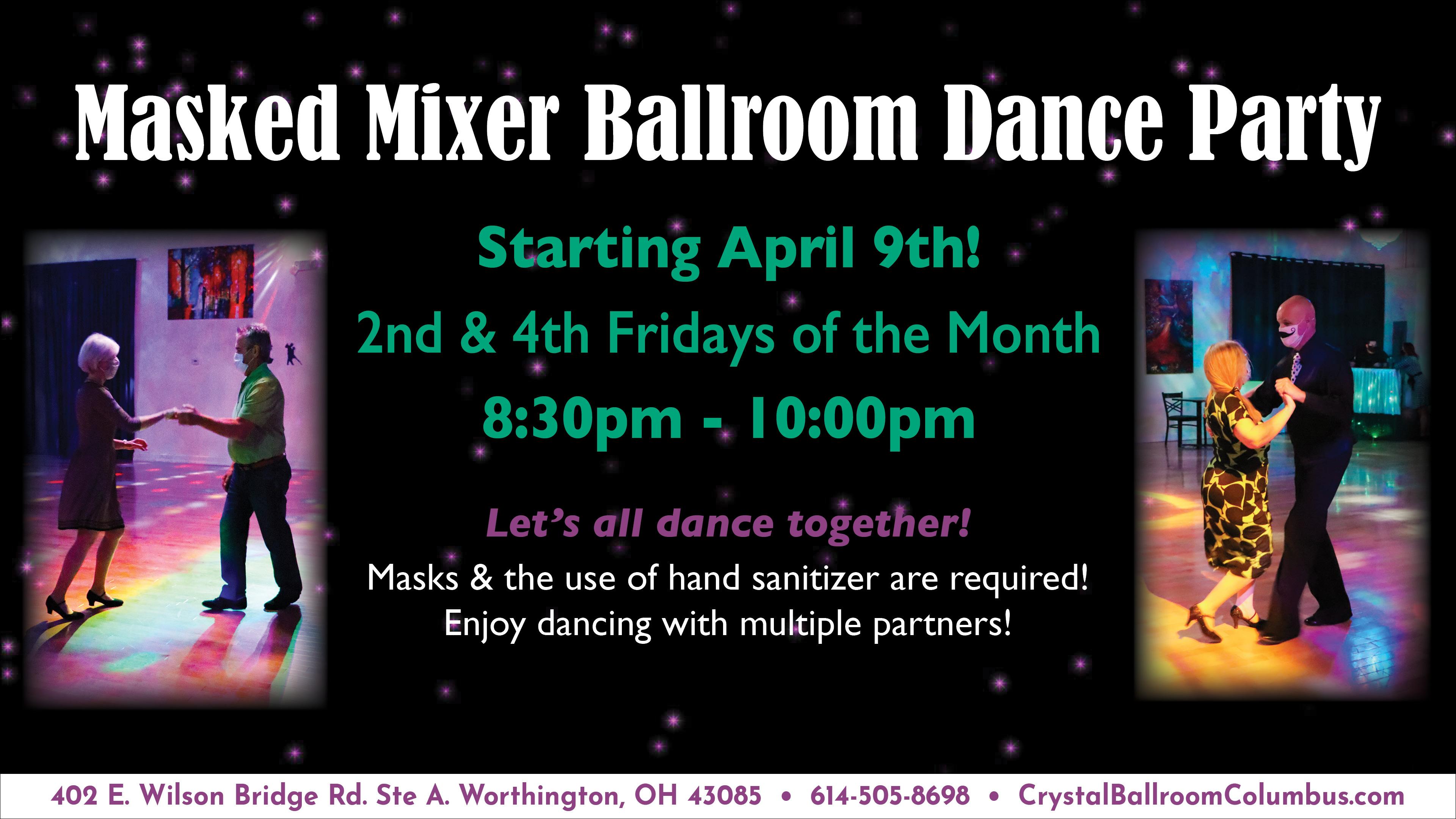 Masked Mixer Ballroom Dance Party