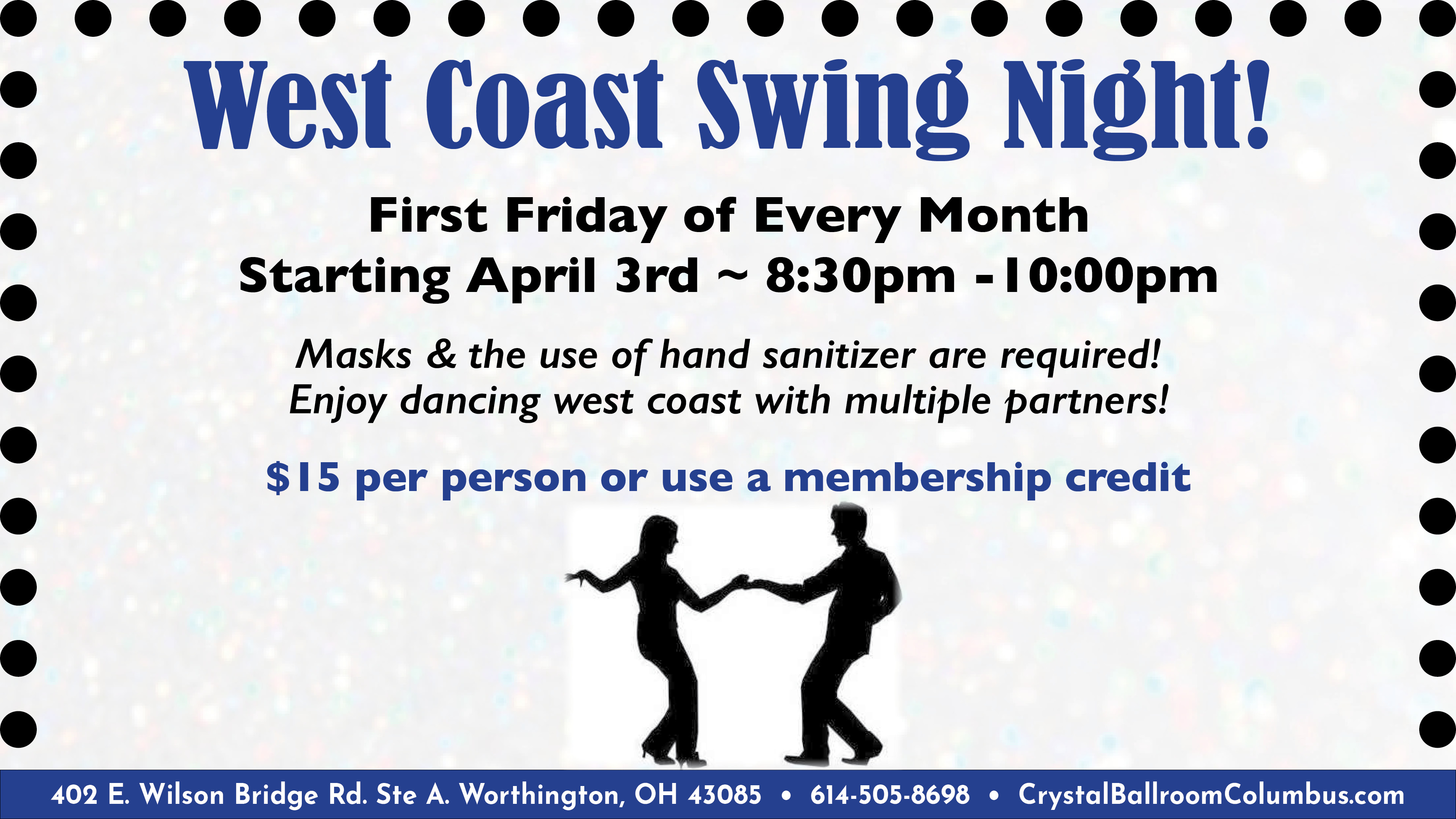 West Coast Swing Night Dance