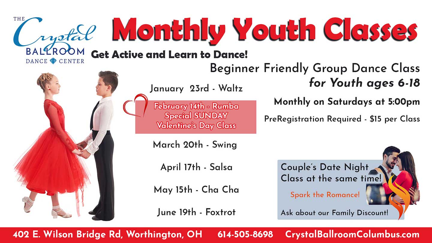 Monthly Youth Classes