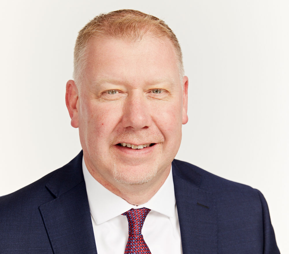 Headshot of VP, Michael Cross.
