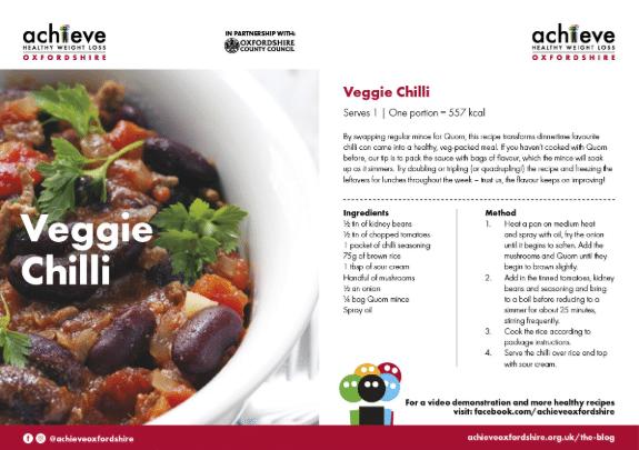 veggie chilli
