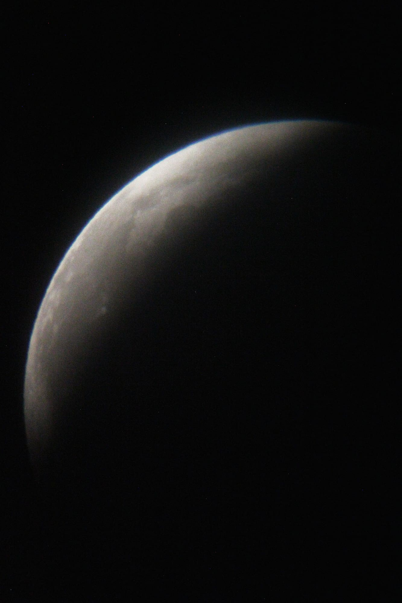 Image of the crescent moon by Sky Crosby