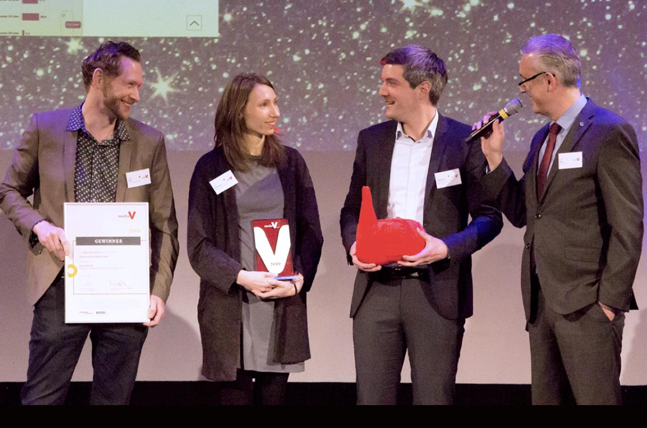 Media V-Award für Uhura und BDEW