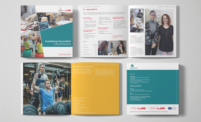 The new publication for potential trainees in the health sector