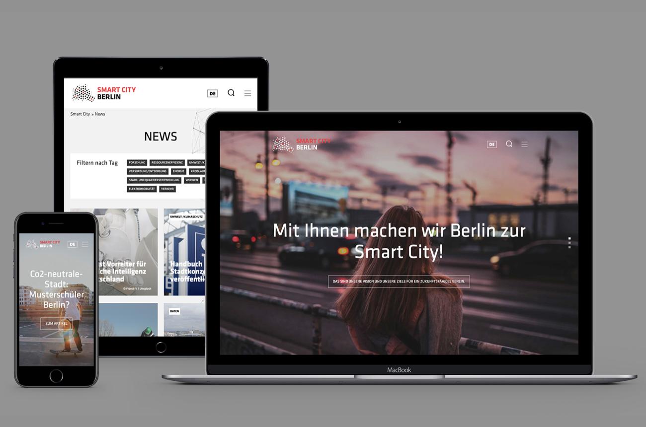Neuer Auftritt für Smart City Berlin