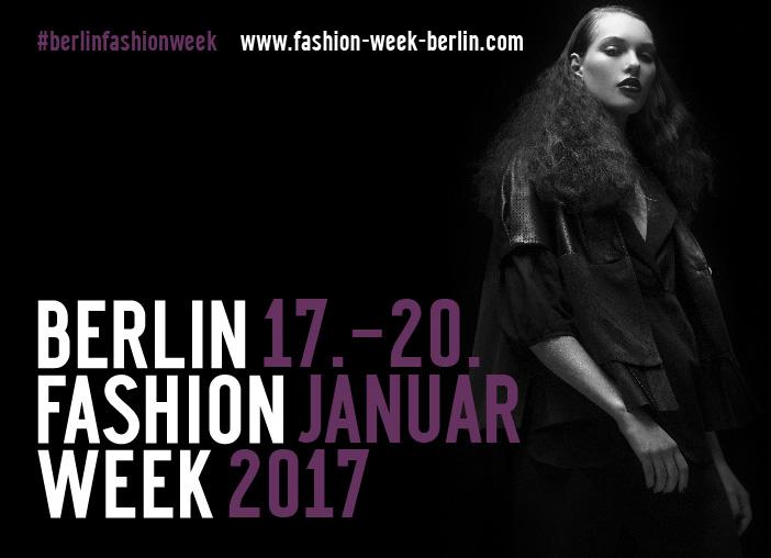 Kampagnenmotiv der Berlin Fashion Week im Januar 2017