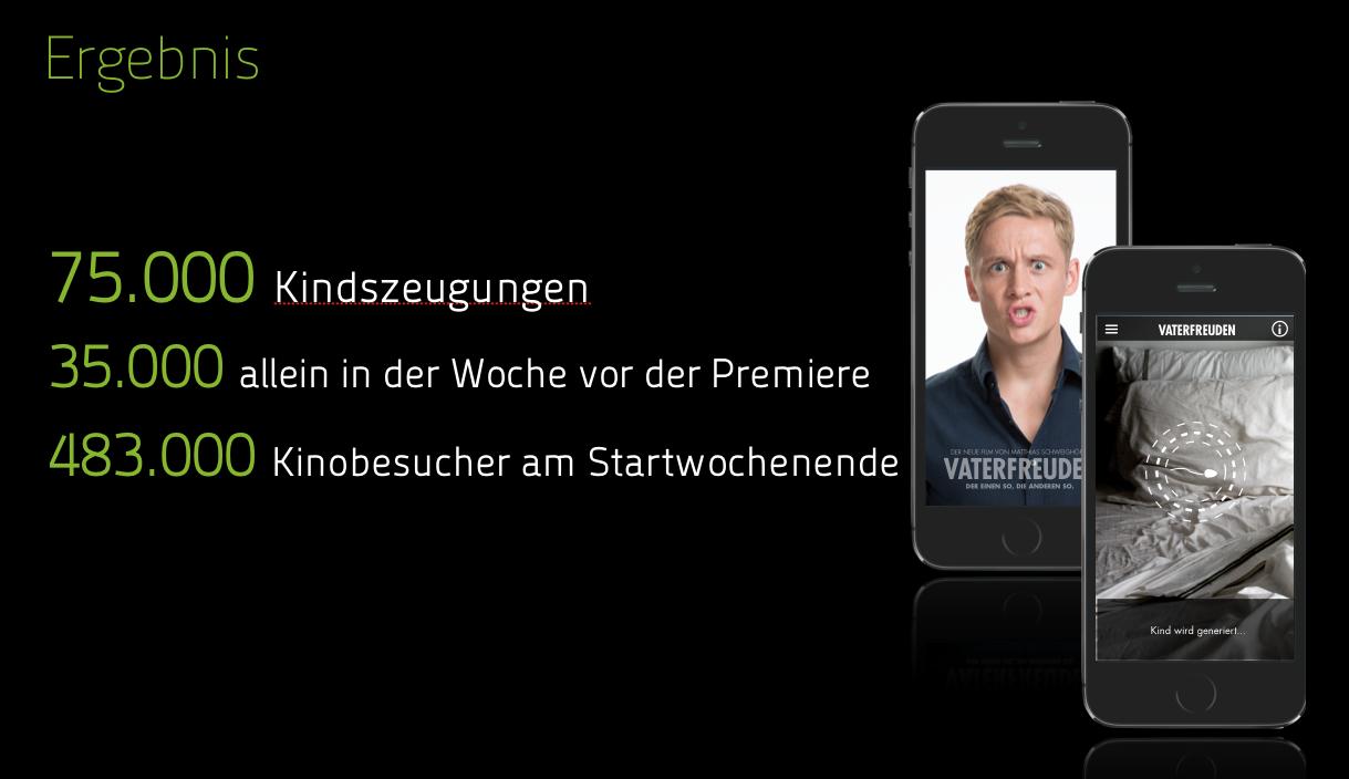 Agentur Uhura Berlin Mobile App Vaterfreuden