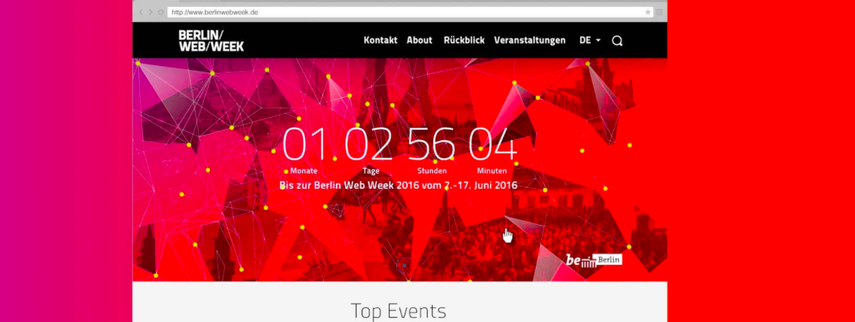 Uhura relauncht Berlin Web Week
