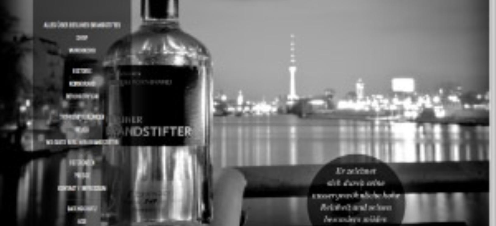 Website für Berliner Brandstifter