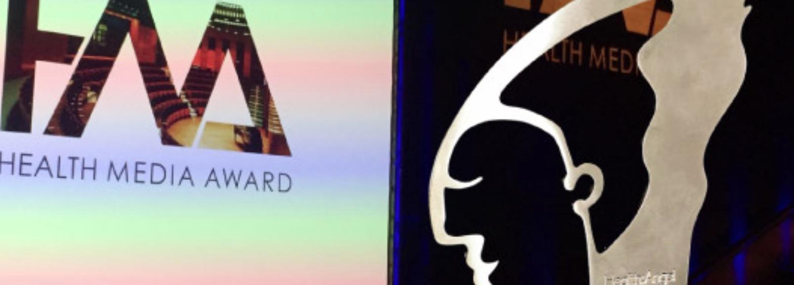 Uhura gewinnt Health Media Awards 2015
