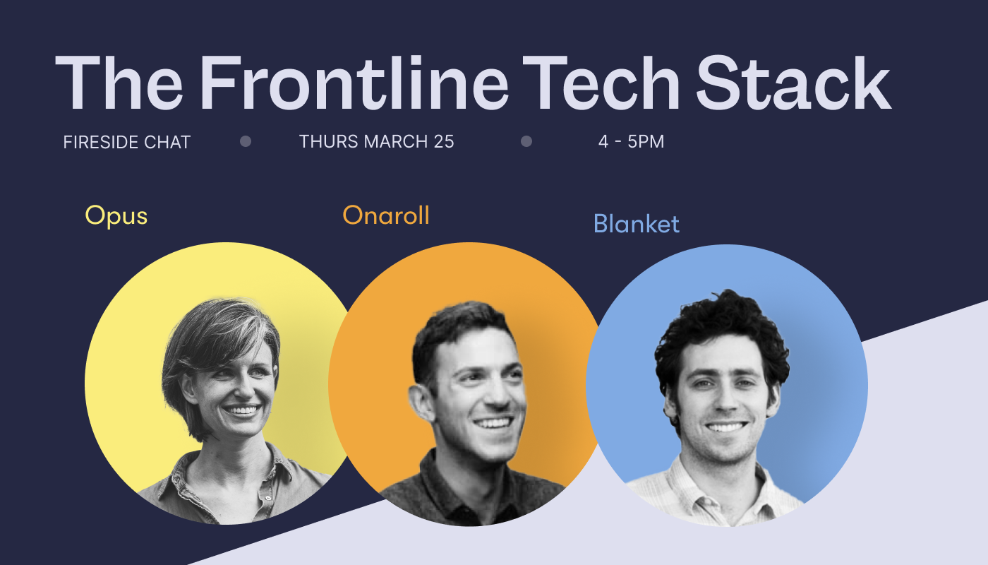 WTF Is A Frontline Tech Stack?