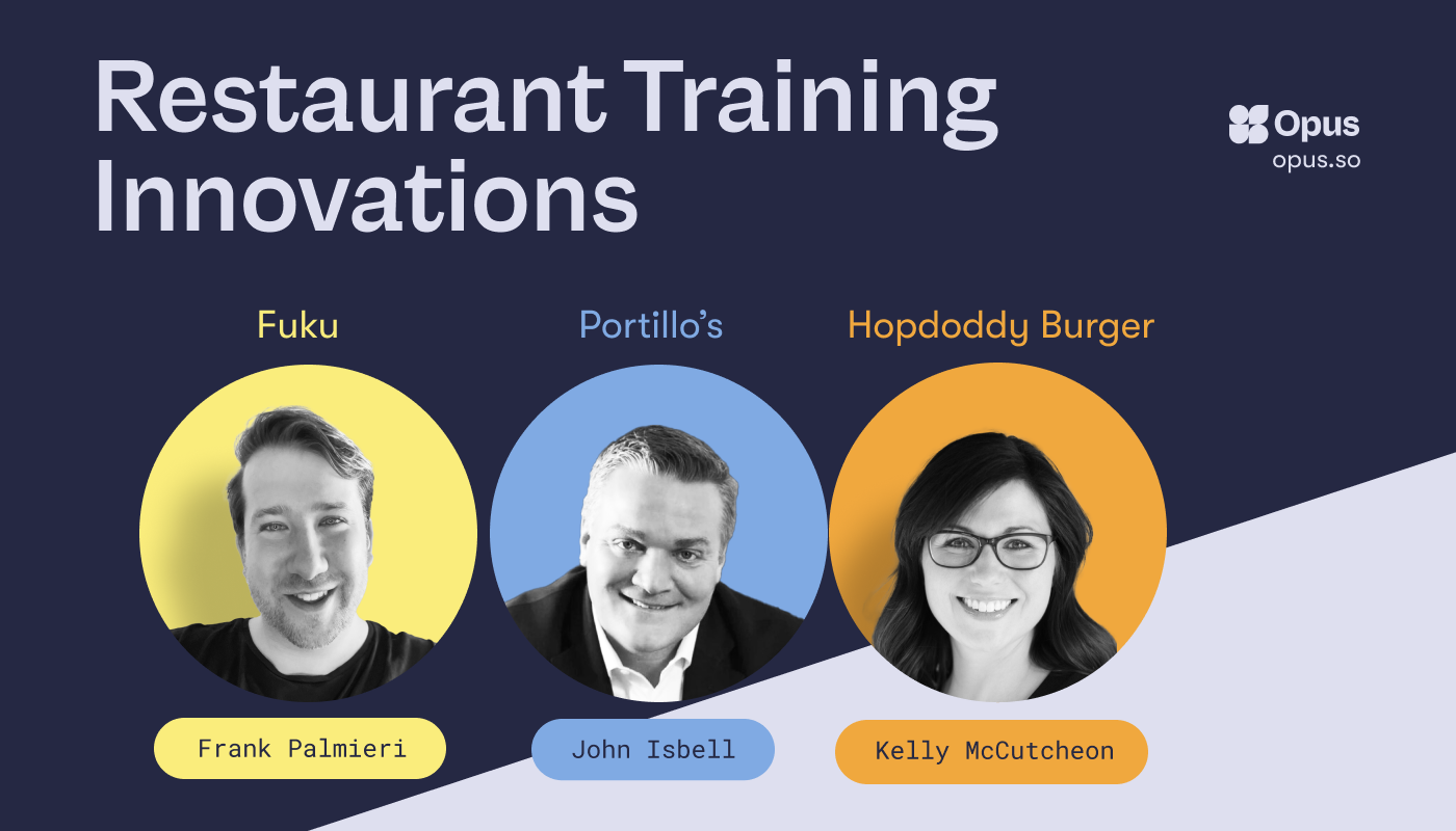 Innovations in Restaurant Employee Training