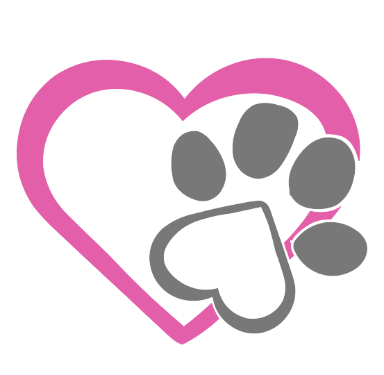 heart and paw logo icon - furry fabulous grooming