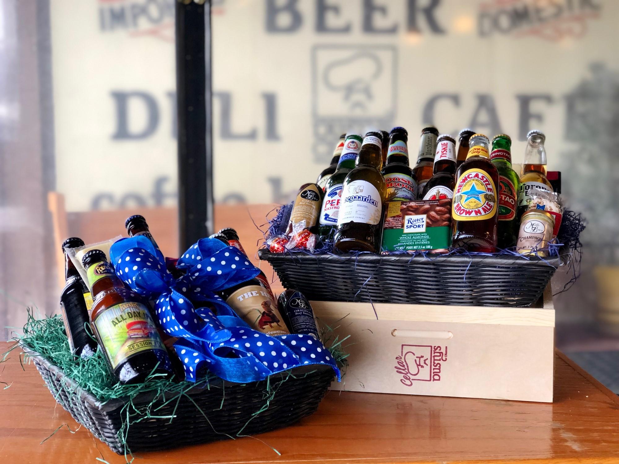 Beer & Snack Basket