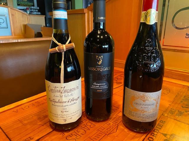 ZOOM Italian Wine Tasting