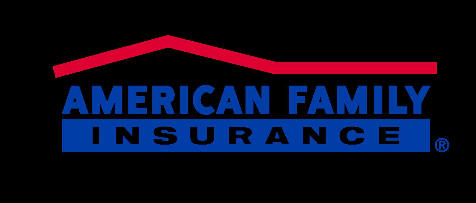 American Family insurance logo.