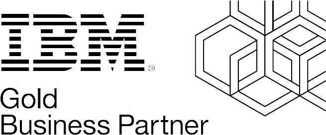 IBM Gold business partner logo.