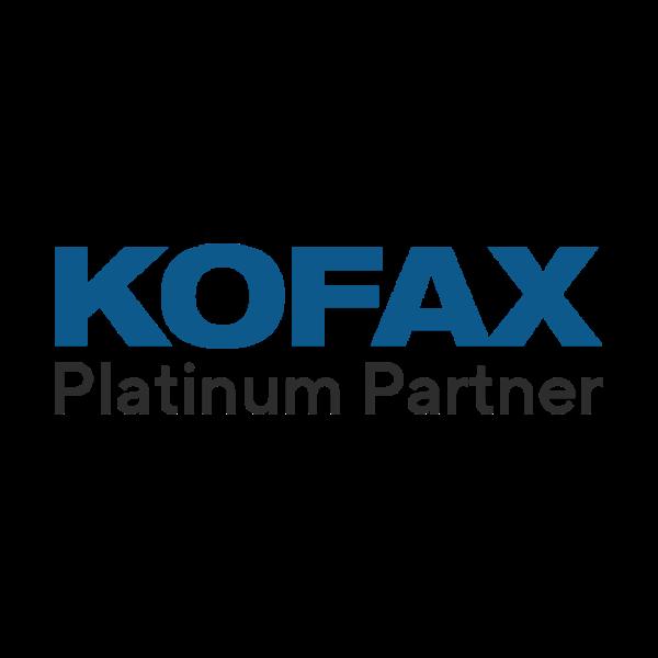 Kofax Platinum Partner Logo.